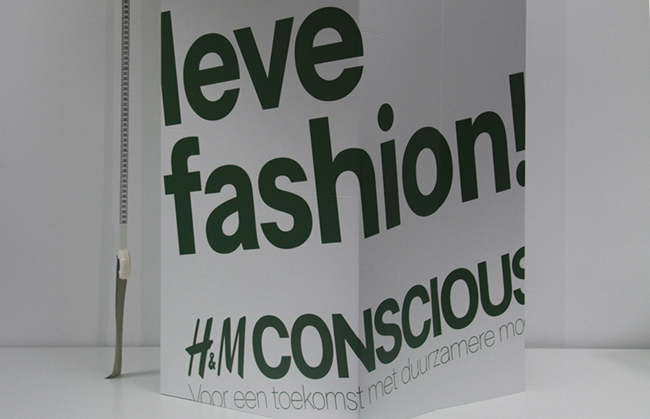 A sketch of the H&M's Conscious Store design