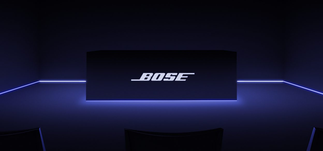 Bose Soundtouch 3D Simulation Mr.Beam Projection Mapping CES Conference