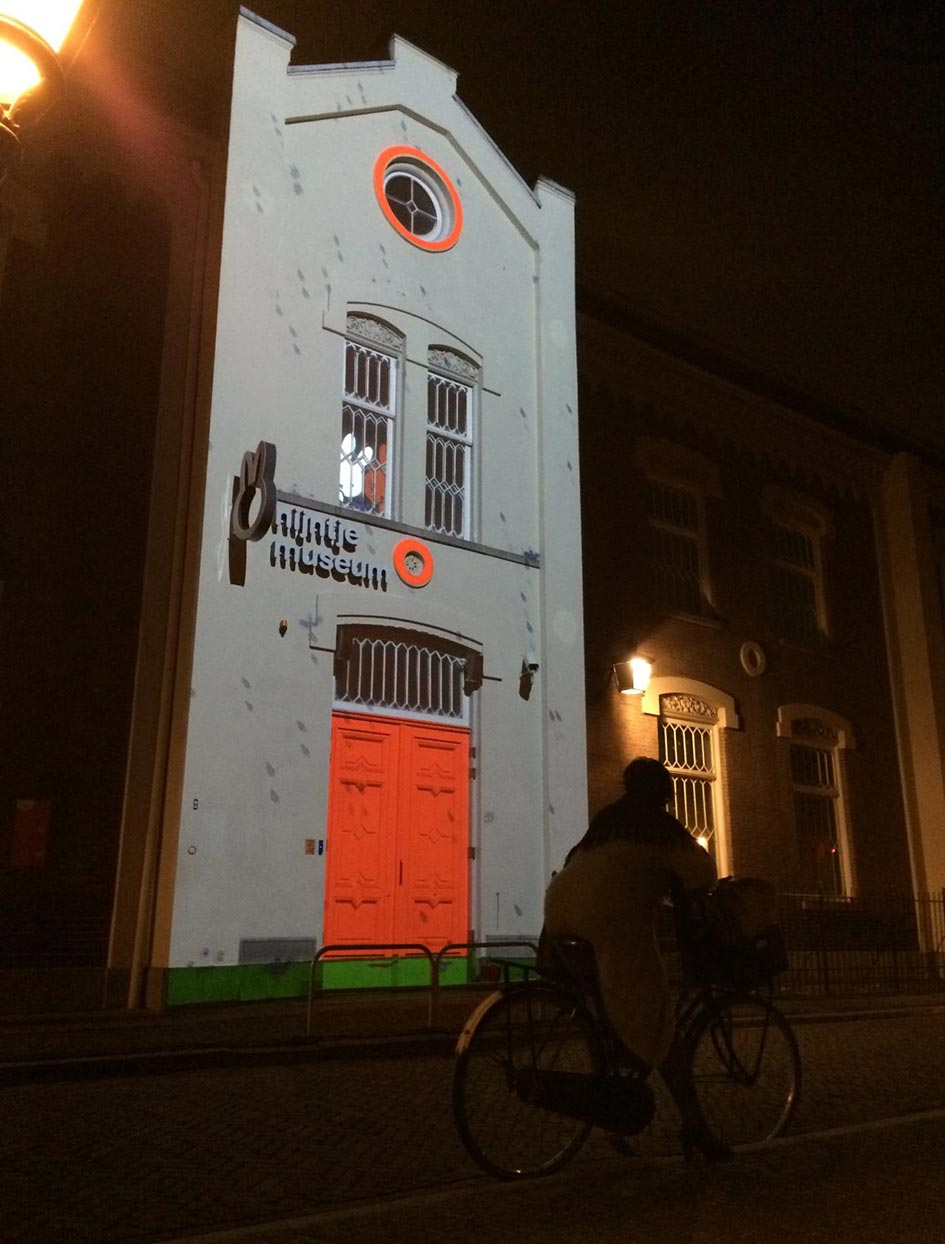 Projection on the Miffy Museum Utrecht