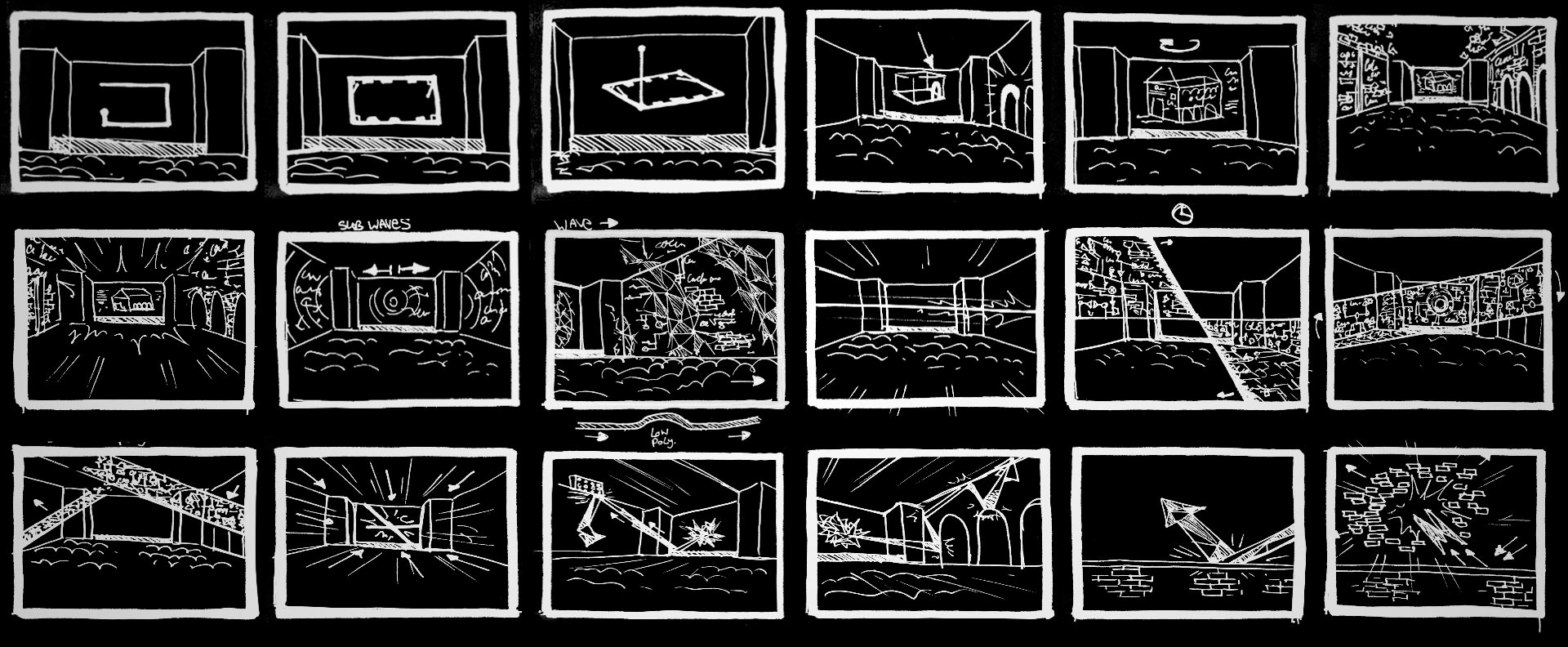 Storyboard for Bose created by Mr.Beam